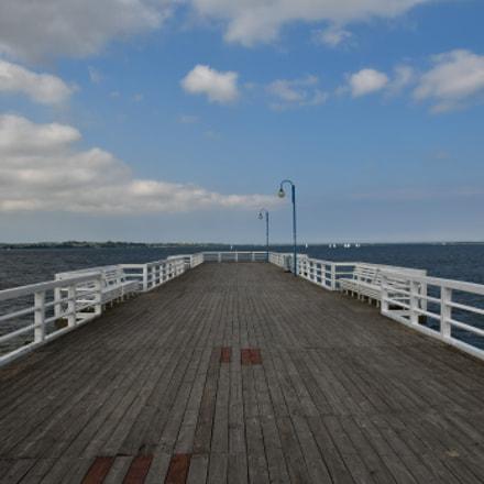 The dreamlike pier in, Nikon D500