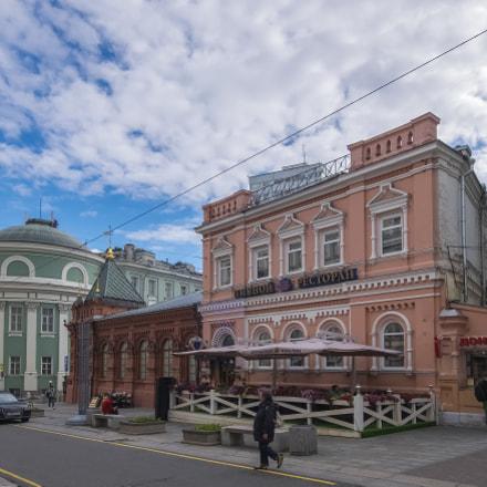 Bol'shaya Dmitrovka street. Moscow, Fujifilm XQ1