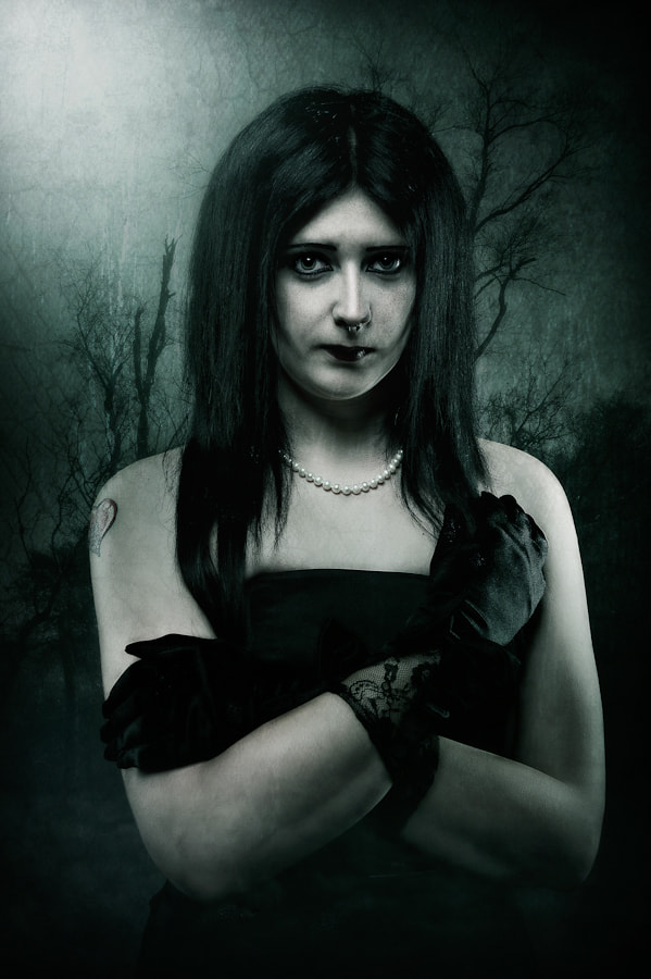 Photograph Gothic Female by Glyn Dewis on 500px