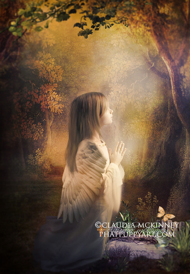 Photograph Littlest Angel (revised) by Phatpuppy Art on 500px