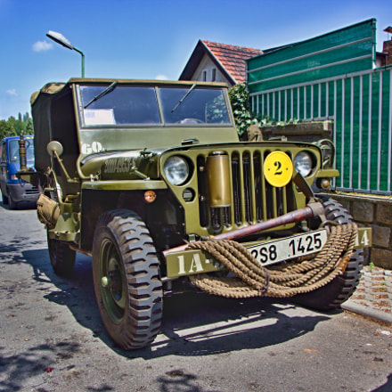 Jeep Willys, Canon EOS 600D, Canon EF-S 17-55mm f/2.8 IS USM