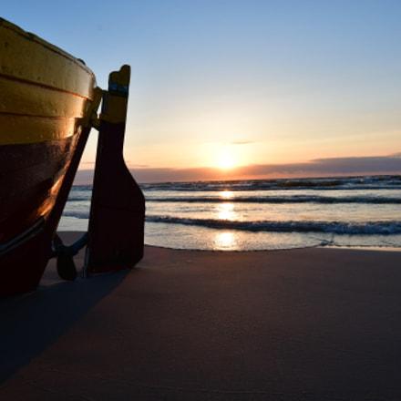 Beautiful sunset in Debki, Nikon D500