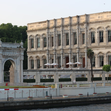 The Ciragan Palace, Canon EOS 700D, Canon EF-S 55-250mm f/4-5.6 IS STM