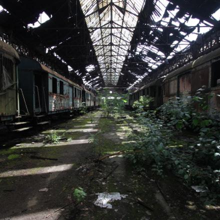 Istvántelek Train Depot, Canon EOS 7D, Canon EF-S 10-22mm f/3.5-4.5 USM