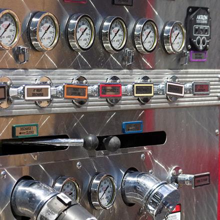 Fire Engine Pump Panel, Canon EOS DIGITAL REBEL