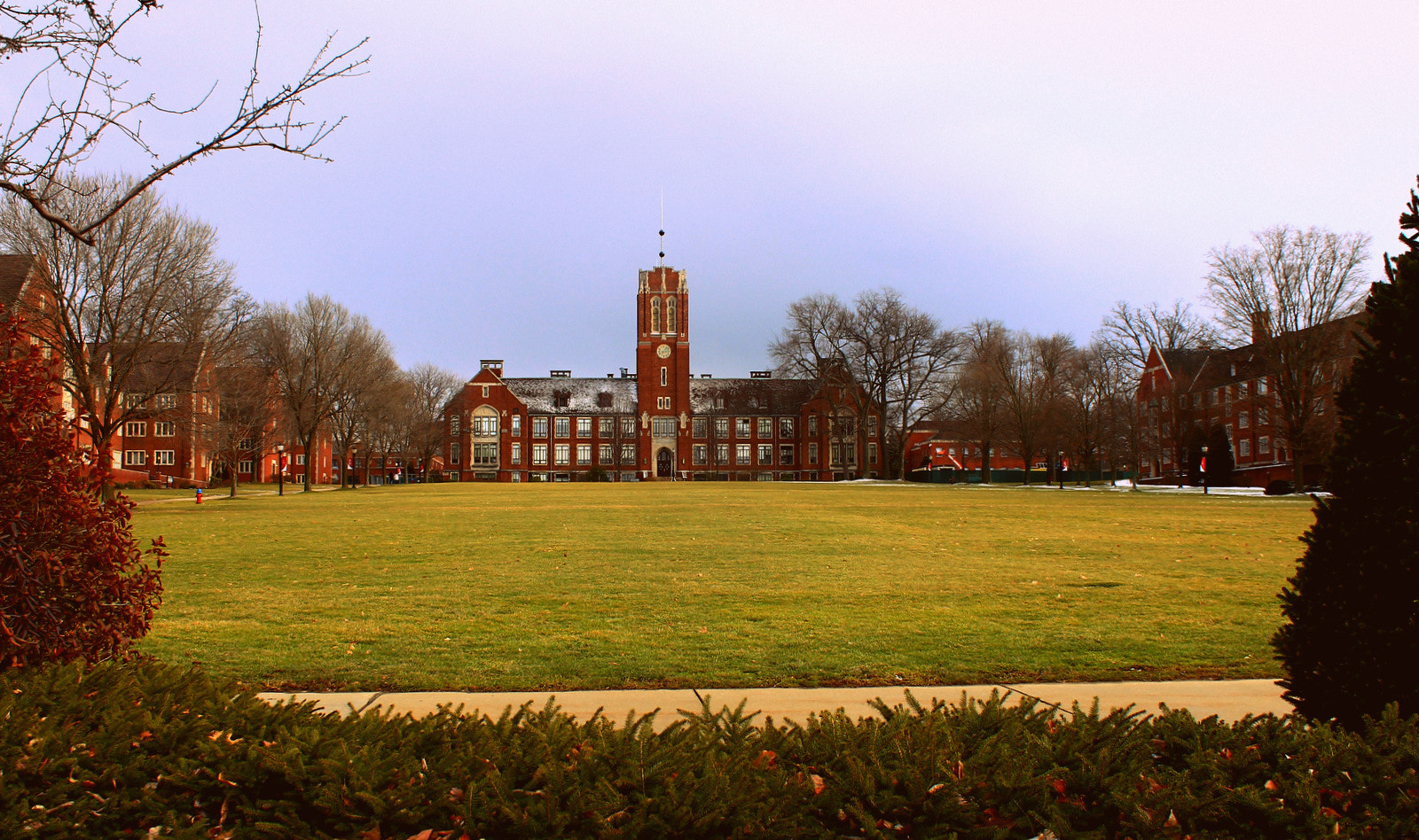 Photograph Cross Campus. by Andrew Stein on 500px