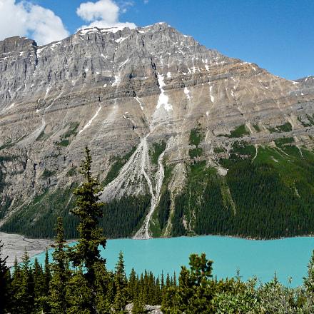 Peyto Lake, the Left, Panasonic DMC-FZ18