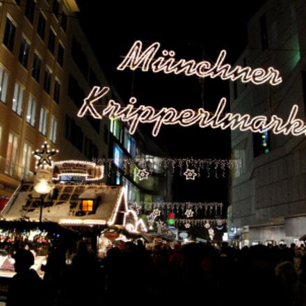 Munchner Kripperlmarkt, Sony DSC-W290