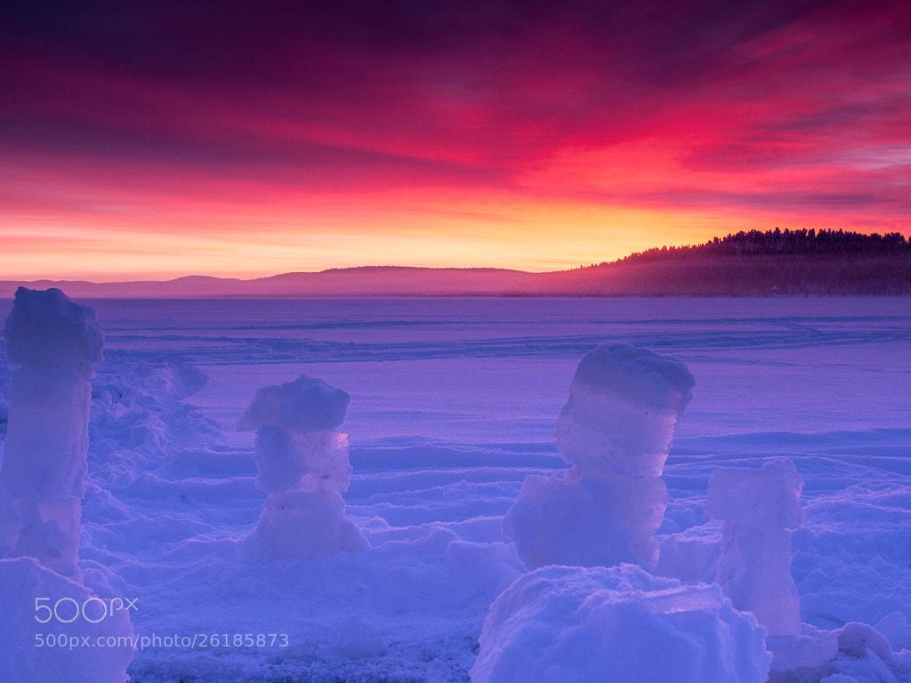 Photograph Ice Blocks, Lake Menesjarvi by Keith Muir on 500px