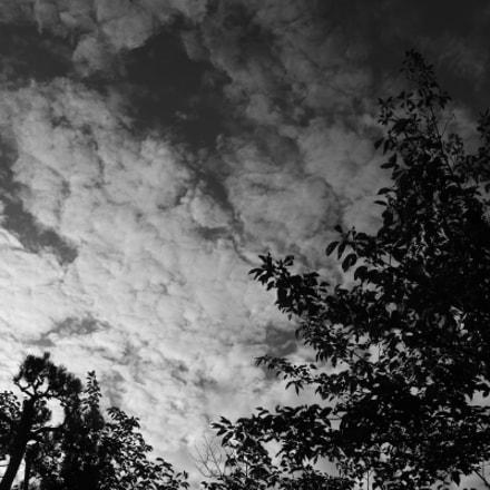 last morning sky, Canon EOS M6
