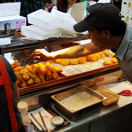 Sweet Donuts, Haeundae Market, Pentax *IST DL, PENTAX-F 28-80mm F3.5-4.5
