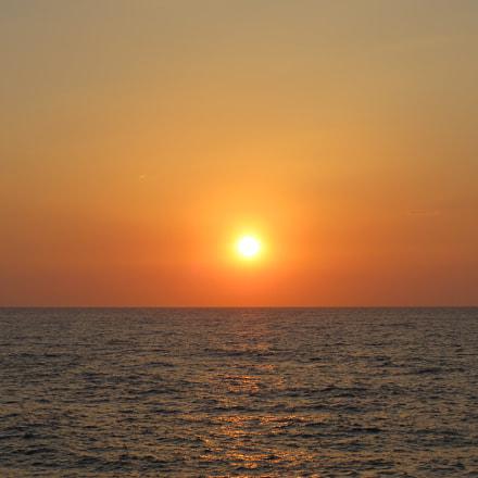 Sunset, Canon POWERSHOT SX540 HS