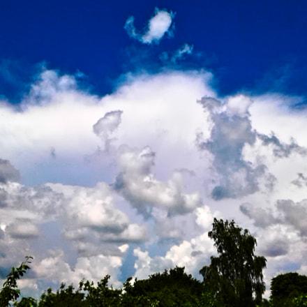 It's cloudy, Samsung Galaxy J1