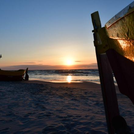 Sunset in Debki, Nikon D500