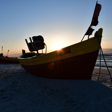 Summer sunset in Debki, Nikon D500