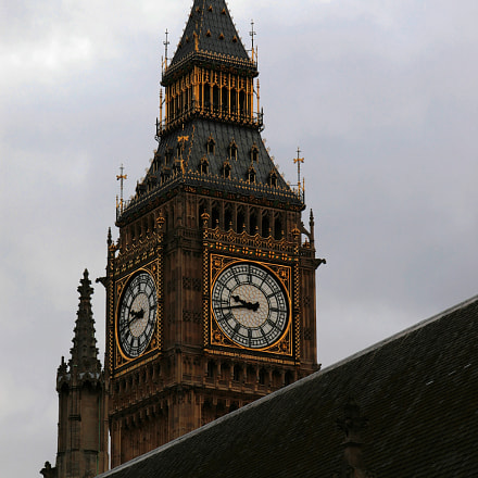Big Ben, Canon EOS 30D, Canon EF-S17-85mm f/4-5.6 IS USM