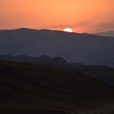 Sunset, Nikon D5500, AF-S DX Nikkor 18-140mm f/3.5-5.6G ED VR