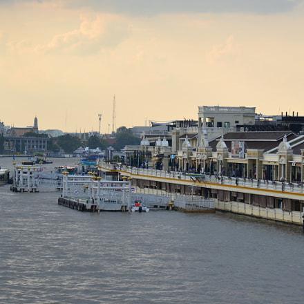 Chao Phraya River, Thailand, Nikon D610, AF-S Nikkor 24-120mm f/4G ED VR