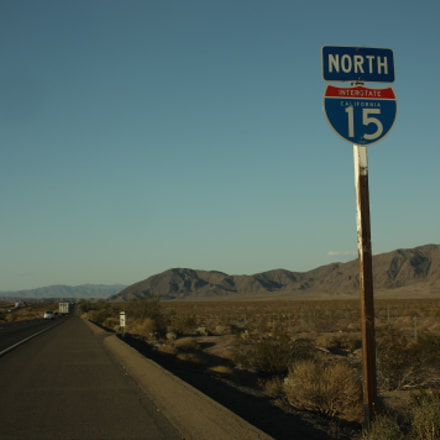 American Highway - Interstate 15, Canon EOS 450D, Canon EF-S 18-55mm f/3.5-5.6 IS
