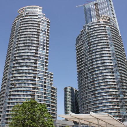 Toronto downtown, Toronto, Ontario, Canon EOS REBEL T2I, Canon EF-S 18-55mm f/3.5-5.6 IS