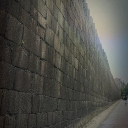 Guimarães´s Wall, Canon POWERSHOT G7