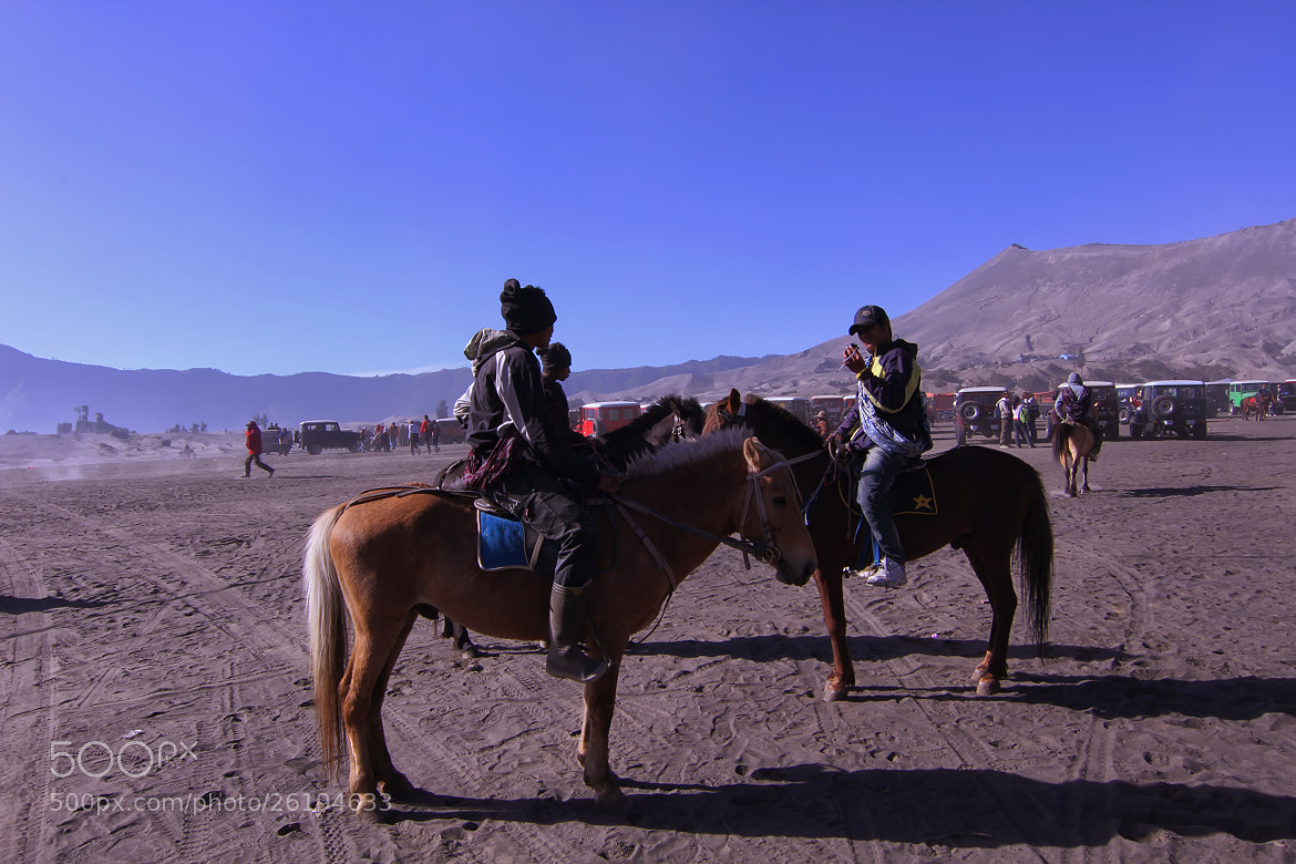 Photograph horsemen of mount bromo by Ismed Hasibuan on 500px