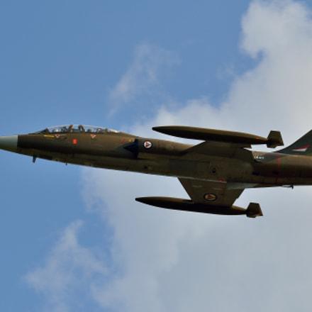 Norwegian F-104 Starfighter, Nikon D7000, Sigma APO 100-300mm F4 EX IF HSM