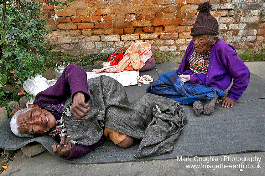 Photograph Home for the Elderly, Nepal. by Mark Coughlan  on 500px