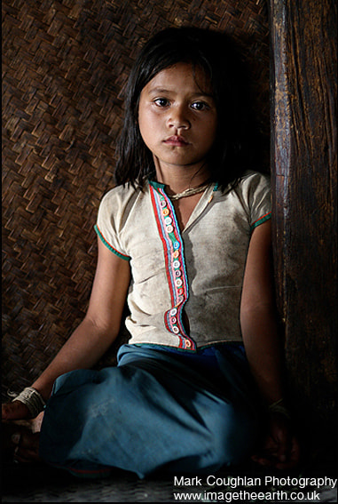 Photograph Portrait of a tribal girl, Myanmar (Burma) by Mark Coughlan  on 500px