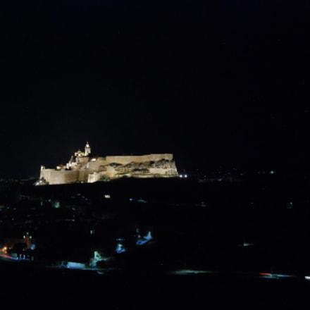 Citadel Gozo, Nikon D80, Sigma 18-200mm F3.5-6.3 DC OS HSM