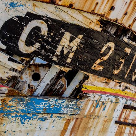 Old Boat, Nikon COOLPIX P520