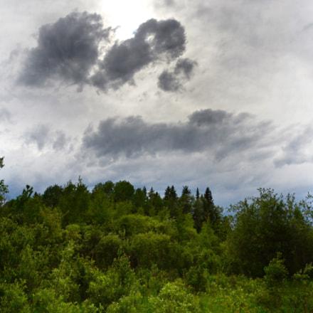 Clouds Over Slough, June, Nikon D3100, Sigma 18-200mm F3.5-6.3 DC OS HSM