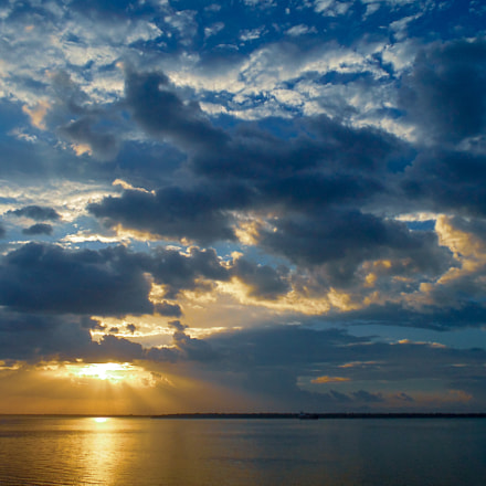 Pôr do Sol, Sony DSC-H200