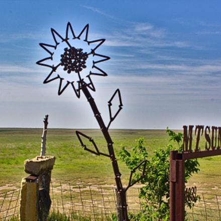 Mount Sunflower, Canon EOS DIGITAL REBEL XS, Canon EF-S 18-55mm f/3.5-5.6 IS II