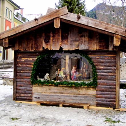 Garmisch Partenkirchen Manger Study 1, Sony DSC-W290