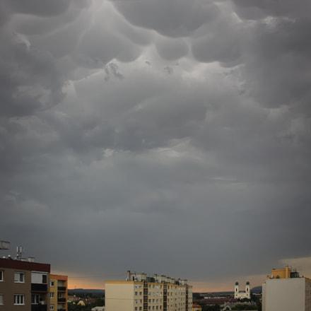 Strange clouds, Canon EOS 1100D, Sigma 17-70mm f/2.8-4.5 DC Macro