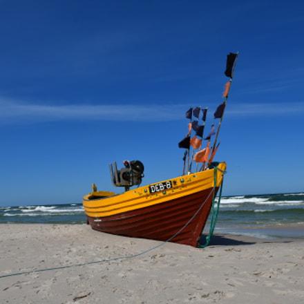 A pomeranian fishing boat, Nikon D500