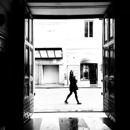 Via del Corso., Samsung Galaxy S6