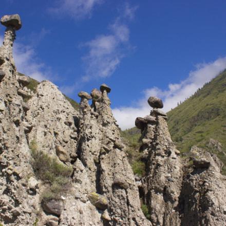 Каменные грибы, Canon EOS 600D, Canon EF-S 18-55mm f/3.5-5.6 III