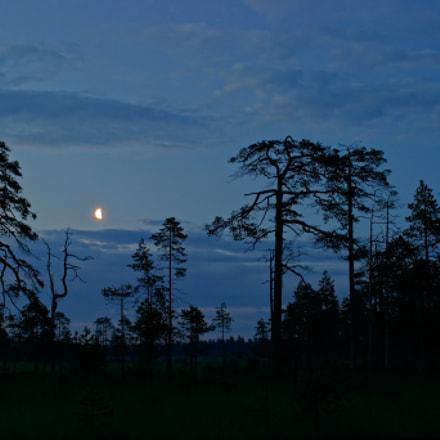 Moon, Canon EOS 10D