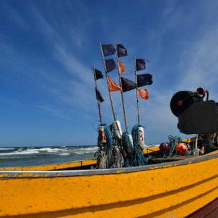 A beautiful fishing boat, Nikon D500