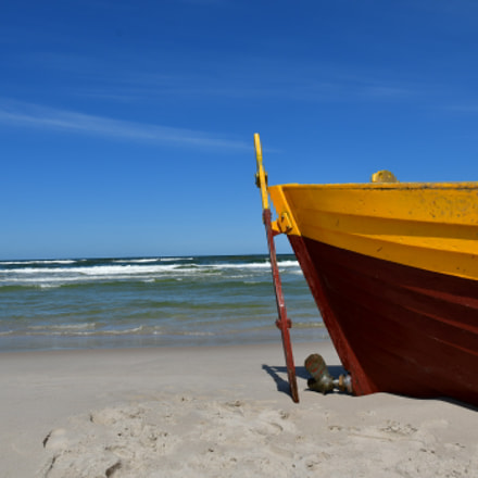 A fishing boat from, Nikon D500