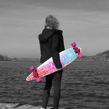 Skater Girl., Canon POWERSHOT SX160 IS