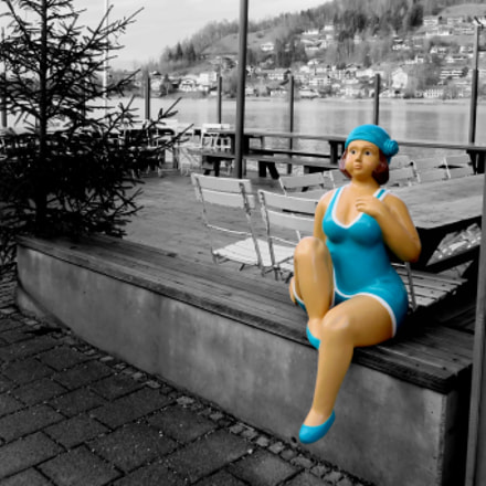 Pretty in Turquois., Canon POWERSHOT SX720 HS