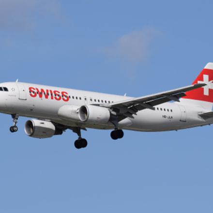 Swiss International Air Lines, Nikon D5300, Tamron SP 70-300mm f/4-5.6 Di VC USD (A005)