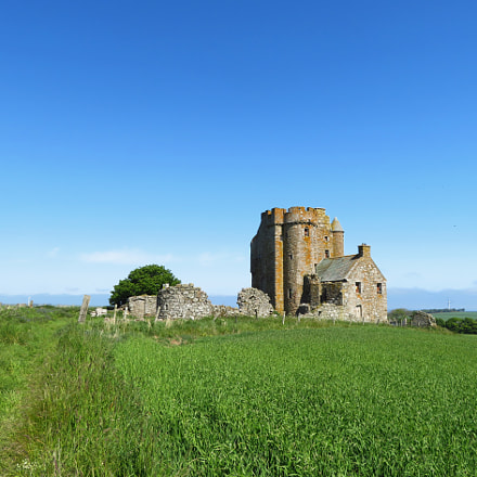 Inchdrewer Castle., Canon POWERSHOT SX720 HS