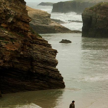 Playa de las Catedrales, Fujifilm FinePix S5500