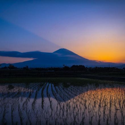 Reflection of Mt. Fuji, Canon POWERSHOT S120