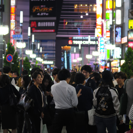 Shinjuku Night, Nikon D300, AF Nikkor 50mm f/1.4D