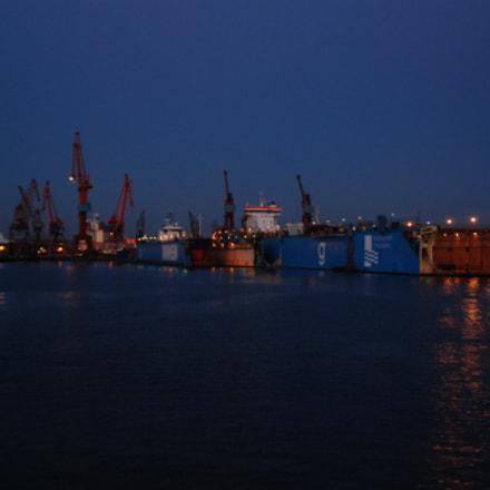 Gothenburg harbour night shoot, Nikon D80, Tamron AF 18-200mm f/3.5-6.3 XR Di II LD Aspherical (IF) Macro (A14)